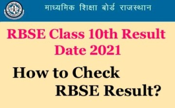 RBSE-10th-Result-2021